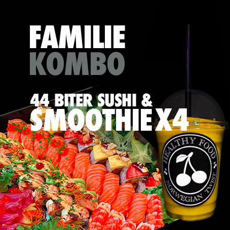 FAMILIEKOMBO SUSHI&SMOOTHIES